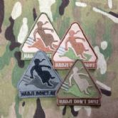 Mil-Spec Monkey Velcro Morale Patch Hadji Don't Surf